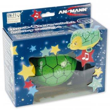 Ansmann dětské noční světlo Hvězdná obloha Želva hrající - foto6