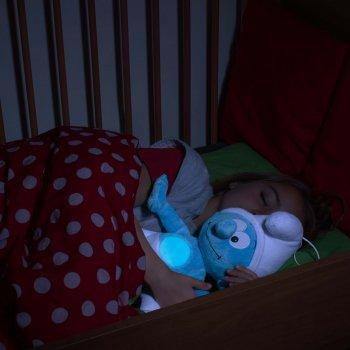 Ansmann dětské noční světlo plyšový Šmoula hrající - foto3