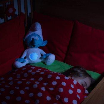 Ansmann dětské noční světlo plyšový Šmoulíček hrající - foto2