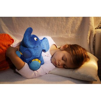 Ansmann dětské noční světlo plyšový Slon hrající - foto4