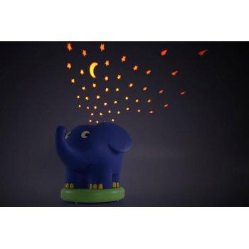 Ansmann dětské noční světlo Hvězdná obloha Slon hrající - foto2