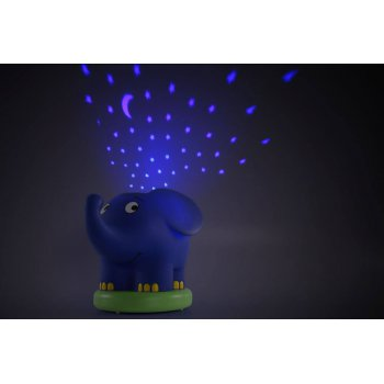 Ansmann dětské noční světlo Hvězdná obloha Slon hrající - foto3