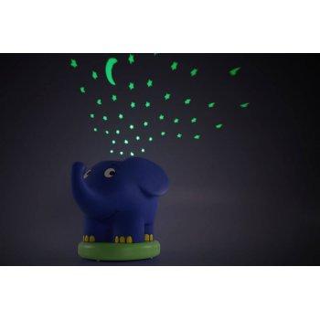 Ansmann dětské noční světlo Hvězdná obloha Slon hrající - foto4