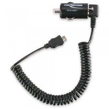 Ansmann USB autonabíječka 1A + Micro USB Kabel