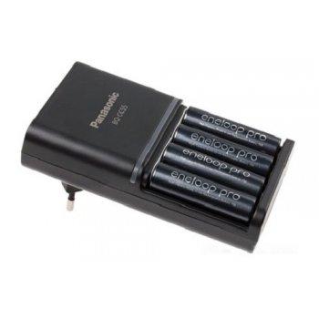 Panasonic BQ-CC55E + 4x AA 2500mAh Eneloop Pro