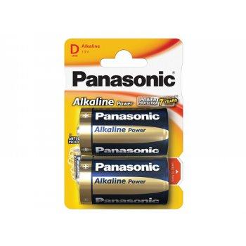 Panasonic LR20 Alkaline Power (alkalická; D; 1,5V; BL2)