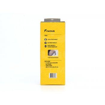 Favour T2222 LED svítilna 3W 250 lumenů - foto 3