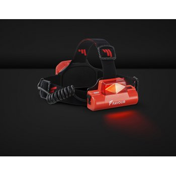 Favour H0717 LED čelová svítilna 1000 lumenů