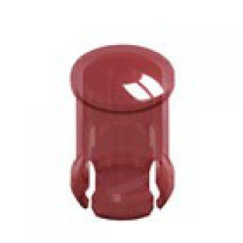 Keystone 8656  krytka na LED diodu, kruhová RED