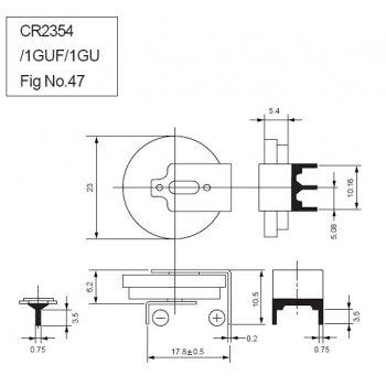 Panasonic CR-2354-1GUE - jiné značení