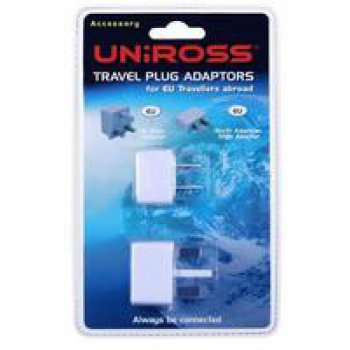 Uniross RA104587 Kit travel Plug EU