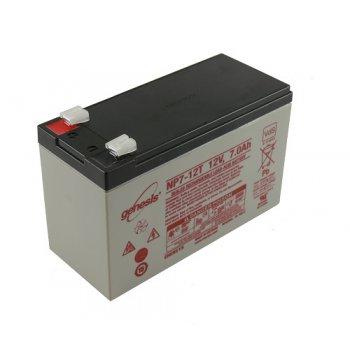 Genesis NP 7-12T (12V/7Ah - Faston 250) SLA baterie