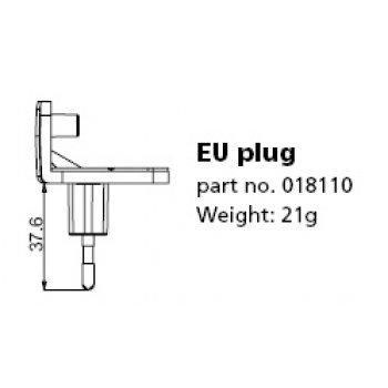 Mascot Plug 018110 (Typ AC adapter EU)