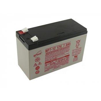 Genesis NP 7-12  (12V/7Ah - Faston 187) SLA baterie